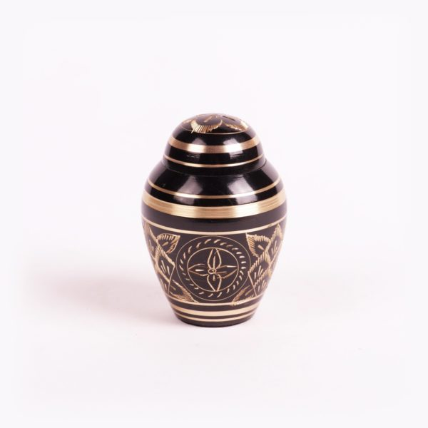 Mini urn messing