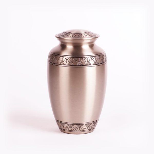urn goedkoop messing zilver